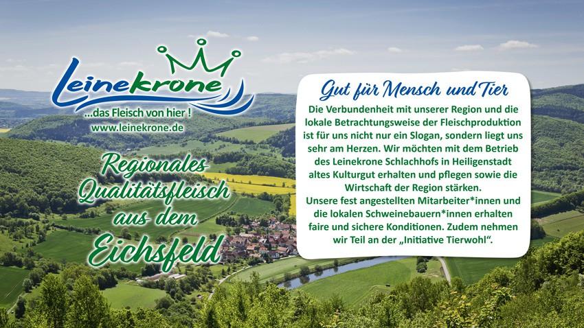 Leinekrone GmbH – Das Fleisch von hier!