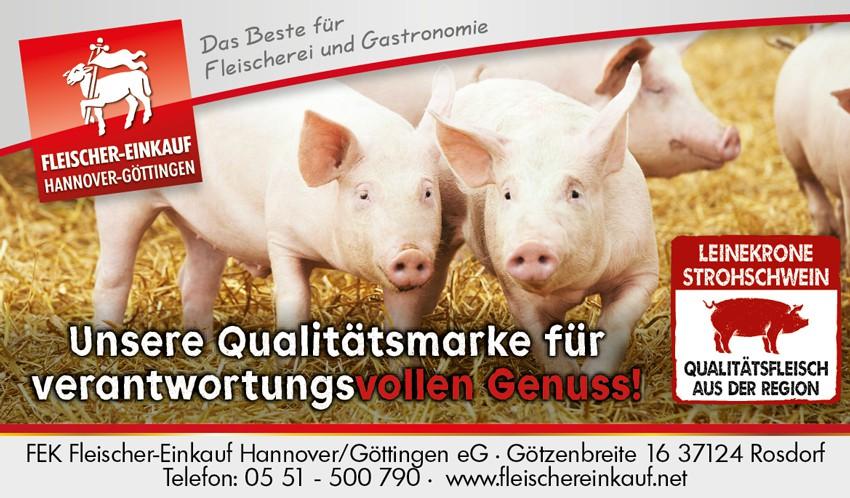 Leinekrone Strohschwein regional Harz Tierwohl